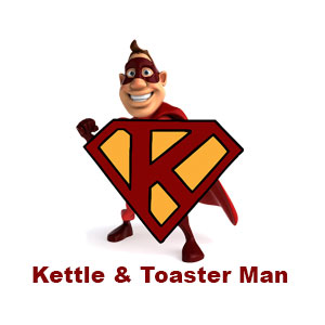 Kettle and Toaster Man Black Country Online
